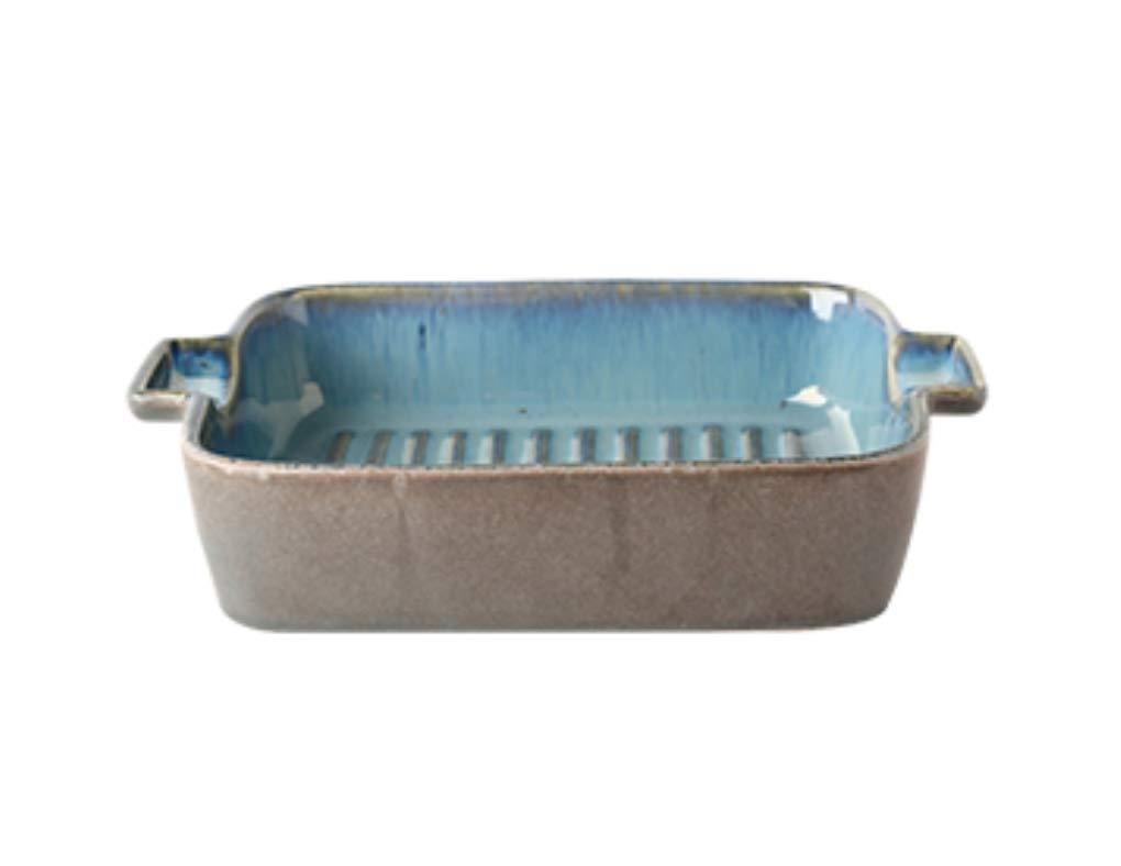 NQINHANPlato de cerámica de cerámica Occidental Plato Creativo ...
