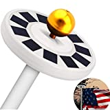 Solar Flag Pole Light, 30 LED Flag Pole Lights Solar Powered Night Light