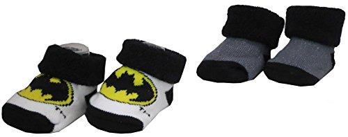 [Dc Comics 2-Pack Batman Bootie Set [5012]] (Batman Dress Socks)