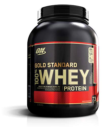 Optimum Nutrition Gold Standard 100% Whey Protein Isolate Powder, Delicious Strawberry, 5 Lb