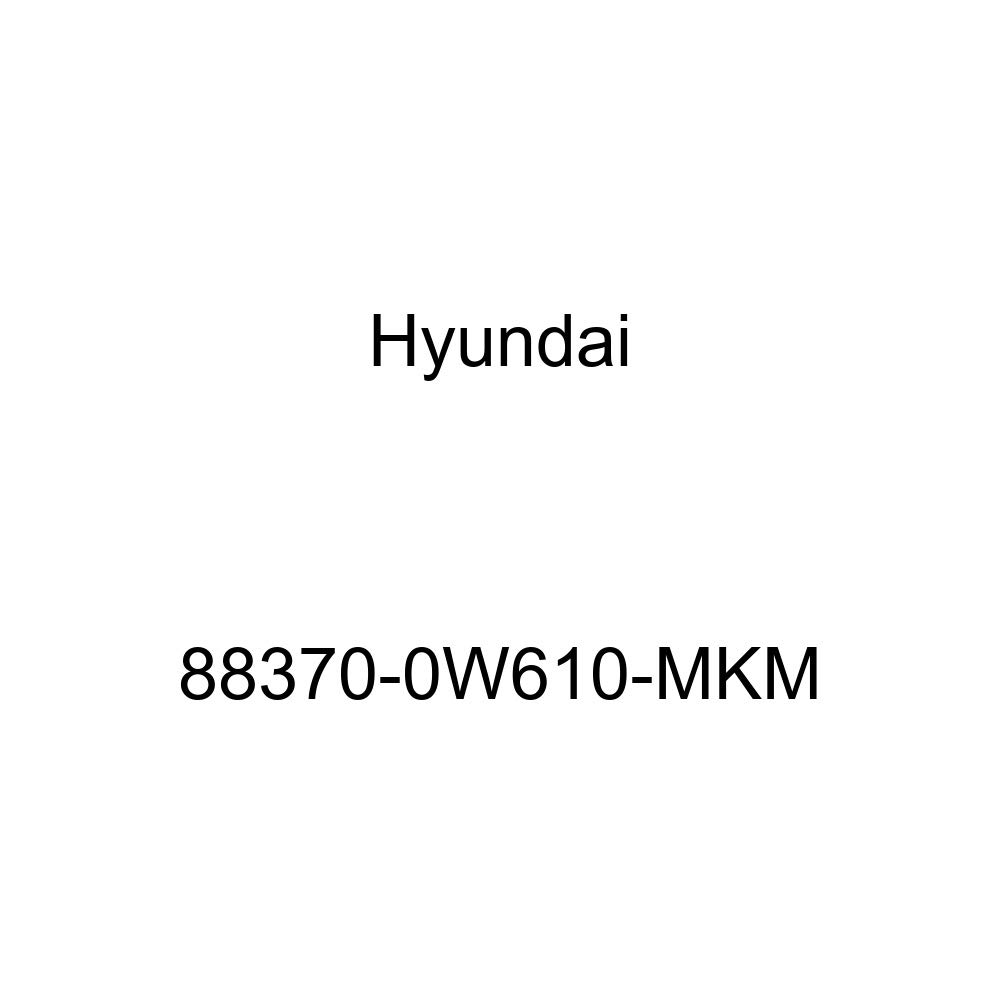 Seat Back Cover Assembly 88370-0W610-MKM Genuine Hyundai Front