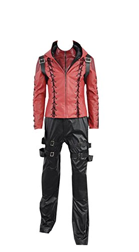 Green Arrow Battleframe Cosplay Costume (Large, Red Roy Male) -