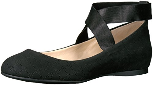 Jessica Simpson Donna Mandages Balletto Nero Piatto Traforato