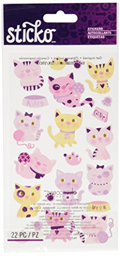 Sticko Kitty Cats Stickers