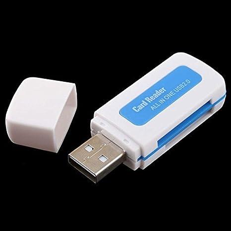 janedream 1pieza Protable USB 2.0?? cuadradas 4 en 1 lector ...