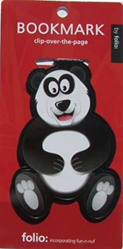 Panda Bookmarks (Clip-over-the-page) Set of 2