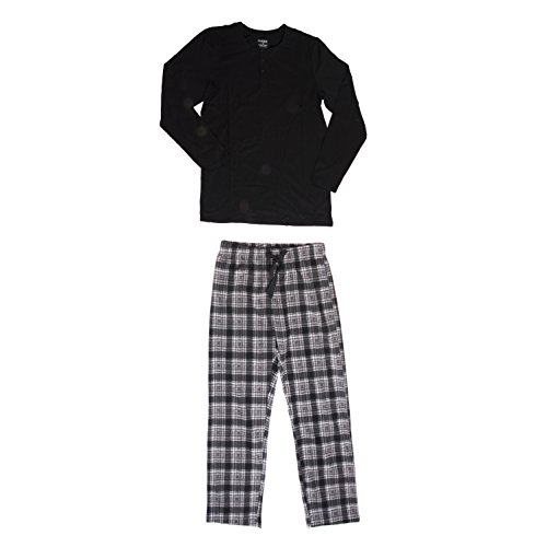 CHEROKEE Men's 2 Piece Pajama Set, Argyle, XL