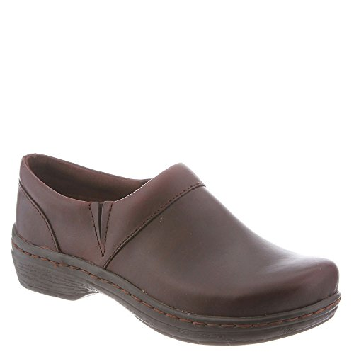 Klogs USA Women's Mission Clog Mahogany Smooth 13 C/D US KL-MISSIONMHS013WID