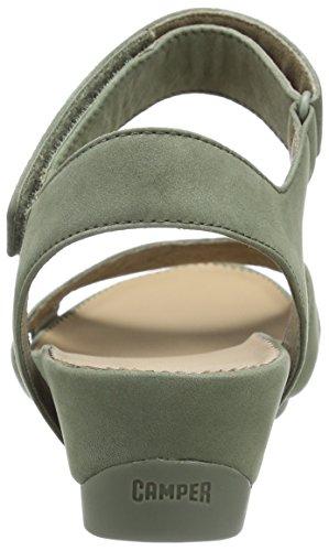 CAMPER Sandalias de tacón Micro Supersoft Verde - Grün (Pastel Green)