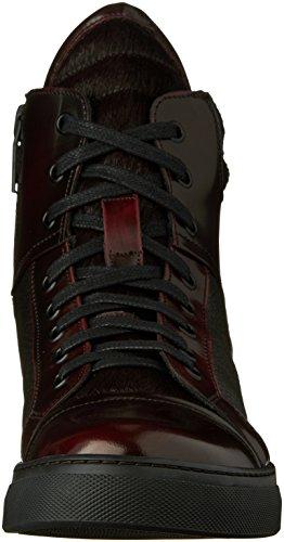 Kenneth Cole New York Mens Dubbel Header Ii Mode Sneaker Bordeaux