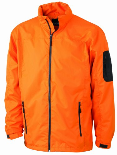 Hombre Carbon para Nicholson amp; Funktionsjacke Chaqueta James Naranja Orange qfXawxS