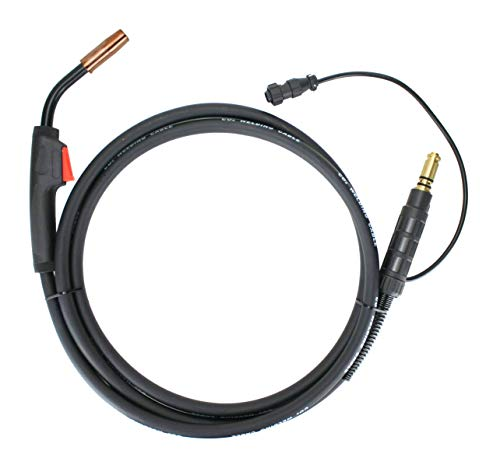150 Amp MIG Gun Torch compatible with Lincoln Magnum - 12 Feet Cable - Two-Pin Signal Connector