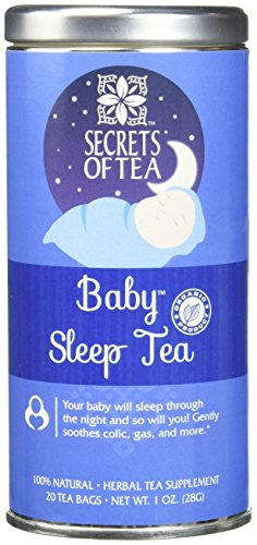 Baby Sleep Tea – Digestive & Colic Prevention Herbal Tea – Soothes Acid Reflux & Newborn Tummy Digestion – Calming, Safe & Healthy Colic Relief Tea – Promotes Better Sleep – 20 (Herbal Magic Ingredients)