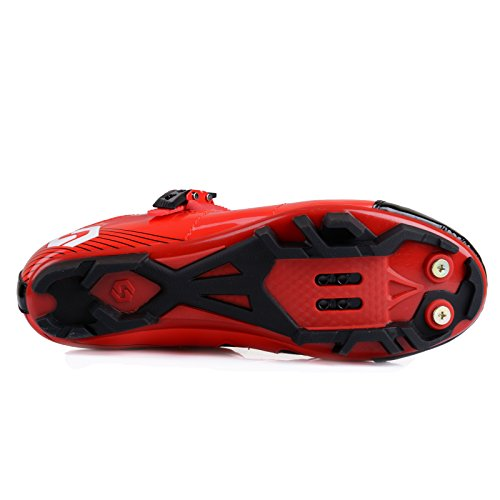 Una Di Con Bike Scegliere Rosso Adulto Gutang Scarpe rosso Grande Pedali si Mtb Ciclismo Pi¨´ Da Taglia dc Scarpe Unisex Prega Per Mountain av0aq6