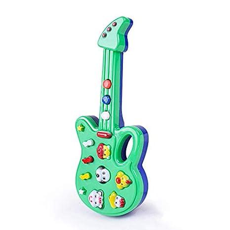 Súper Niños Bebé Niños Juguetes de Guitarra Vivero Rima Sabiduría ...