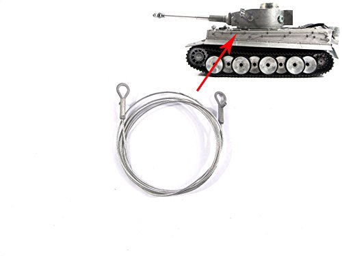 Mato 3818-1 Tank rc Part Tiger 1 Side Metal Towing for sale  Delivered anywhere in USA