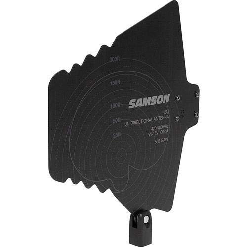 Samson PA1 Active Unidirectional Antenna, 470-980MHz Frequency, Pair