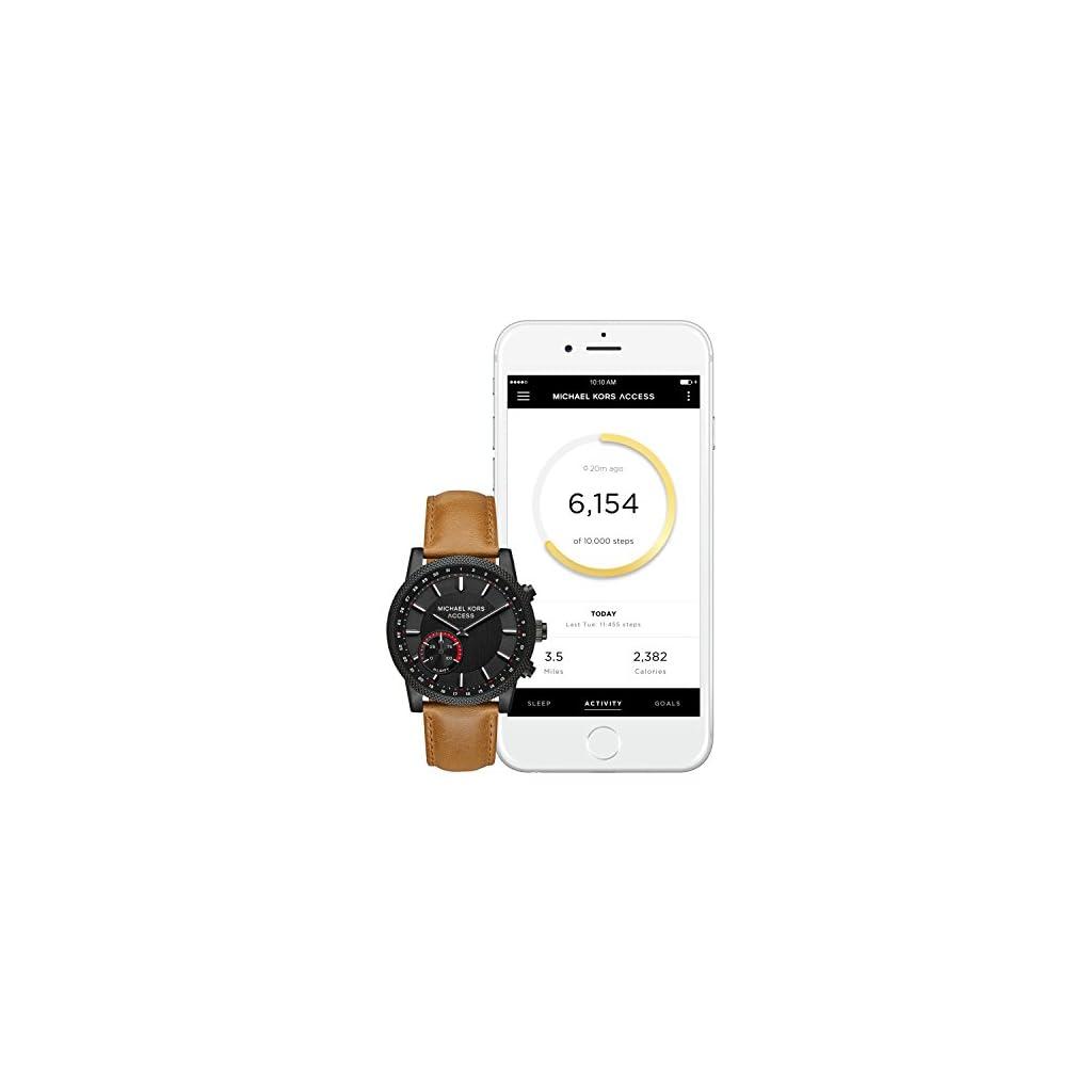 2c661880f73e0 Michael Kors Access Men s  Hutton Hybrid Smartwatch  Quartz ...