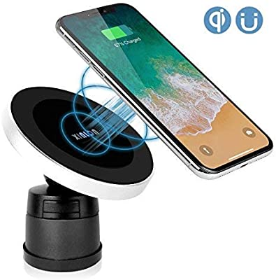 bf662362634 Amazon.com  XINLON Magnetic Wireless Car Charger