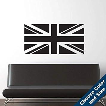 Adhesivo de vinilo para pared, diseño de bandera de Reino Unido