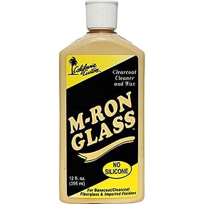 California Custom M-Ron Glass Cleaner Wax - 12 oz: Automotive