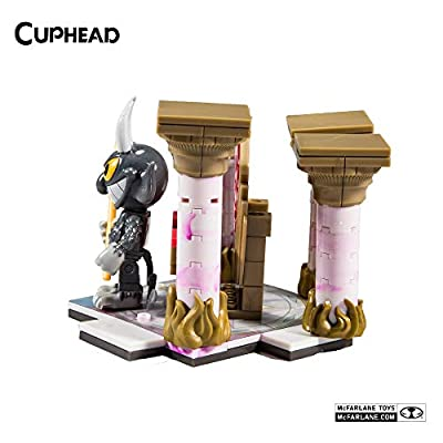 McFarlane Toys Cuphead Devil's Throne Small Construction Set: Toys & Games