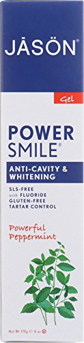 Jason Powersmile Tooth Gel, 6 Ounce (Jason Natural Products Peppermint Toothpaste)
