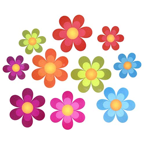 Rape Flower Non Slip Bathtub Stickers Adhesive Decals with Bright Colors Ideal Large from Rape flower_Home