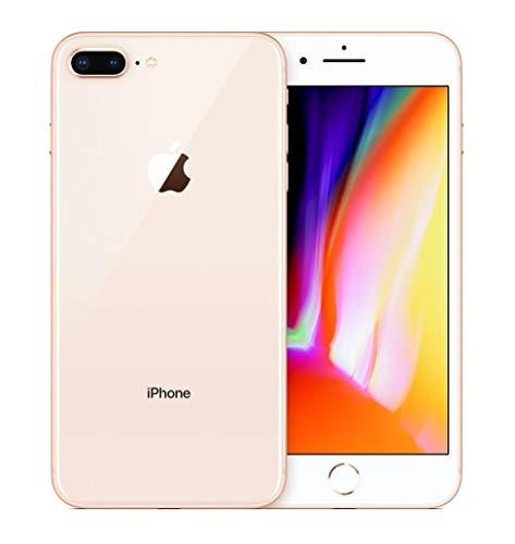 Apple iPhone 8 Plus, Boost Mobile, 64GB - Gold - (Renewed)