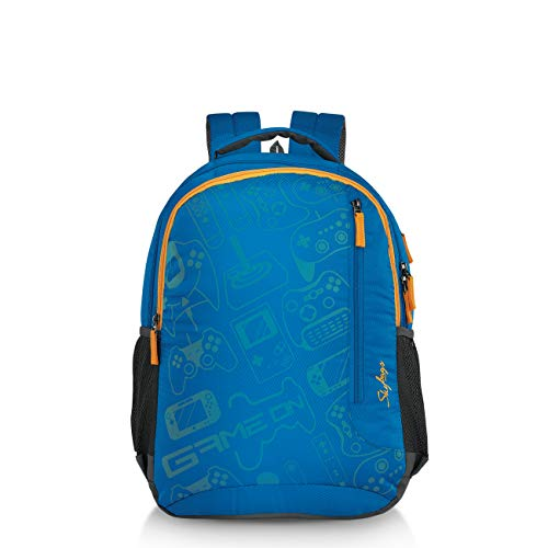 Skybags Nash 06 31 Ltrs Blue Casual Backpack