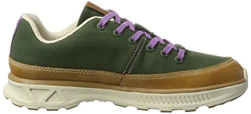 Dachstein Sissi - Zapatillas Mujer Verde (Dark Forest/brown Sugar)