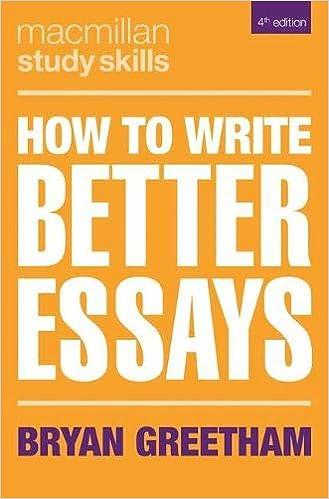 How to write better essays palgrave study skills amazon co uk