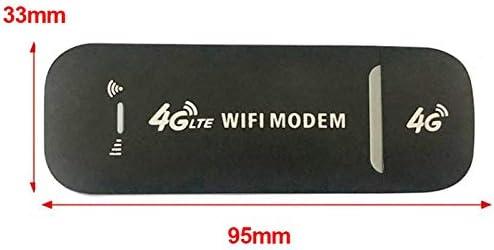 Nrpfell Adattatore Modem USB 150Mbps 4G LTE Scheda di Rete USB Router WiFi Universale Modem 4G