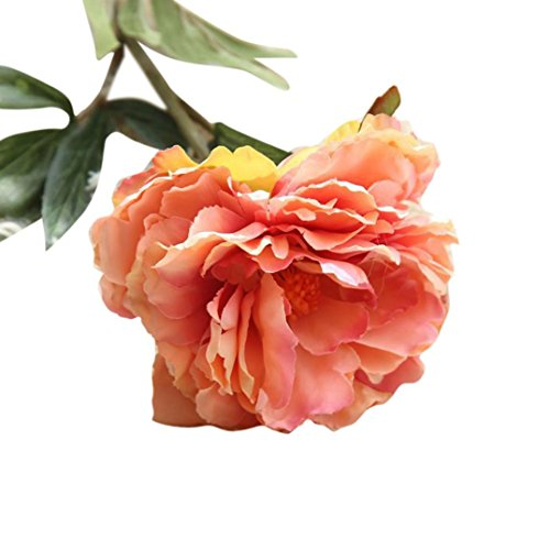 Artificial Fake Flowers Mokao Elengant North Europe Peony Real Touch Vintage Floral Wedding Bouquet Party Home Decoration Cafe Bookstore Garden Office Hotel DIY Decor - In Shopping Europe Prices