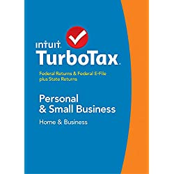TurboTax Home & Business 2014 Fed + State + Fed Efile Tax Software - Win [Download] OLD VERSION