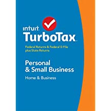 TurboTax Home & Business 2014 Fed + State + Fed Efile Tax Software - Mac [Old Version]