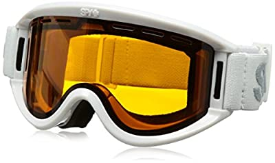SPY Optic Getaway Snow Goggles   Mid-Sized Ski, Snowboard or Snowmobile Goggle   Clean Design and All Day Comfort   Scoop Vent Tech