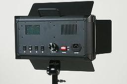 ePhotoInc 500 LED X 2 Video Light Panel Dimmable Photography Studio Photo Lighting Kit VL500SDx2