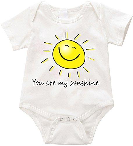VRW You are my sunshine unisex Onesie Romper Bodysuit