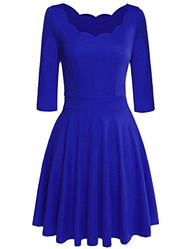 Bustier Knee Length Dress - 1