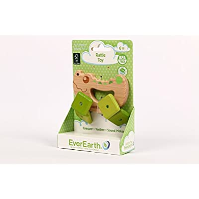 EverEarth Crocodile Rattle Toy EE33581: Toys & Games
