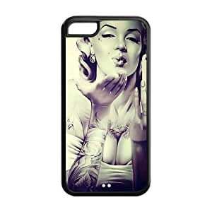 Customize Your Own Marilyn Monroe Cellphone Case Suitable for iphone 5C JN5C-1573 hjbrhga1544