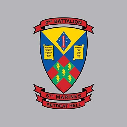 2nd Battalion 5th Marine Regiment USMC Sticker Vinyl Decal Sticker Made in USA 2nd Battalion 5th Marines