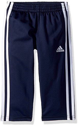 adidas Little Boys' Tricot Pant, Collegiate Navy, 7