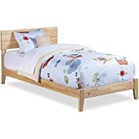 Orlando Open Foot Bed, Twin, Natural