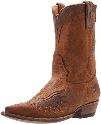 Old Gringo Mens Eagle Western Boot Ochre/Chocolate