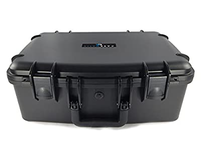 "CASEMATIX ArmorXL Travel Carrying Case (22"") for DJ Controller or Mixer and Accessories - Fits Gemini SLATE 2-Channel Serato Dj Intro Controller / CDJ-700 / CDJ-650 / CDJ-300"