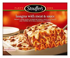 Stouffers Frozen Lasagna With Meat Sauce Classic