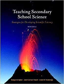 Book Teaching Secondary School Science: Strategies for Developing Scientific Literacy   [TEACHING SECONDARY SCHOOL S-9E]