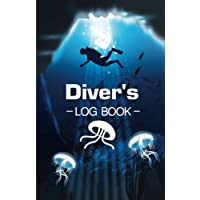 "Diver's Log Book: Easy to use, Portable Size 6x9"" Standard Scuba Dive Log Book"
